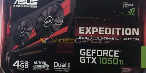 Asus GeForce GTX 1050 Ti