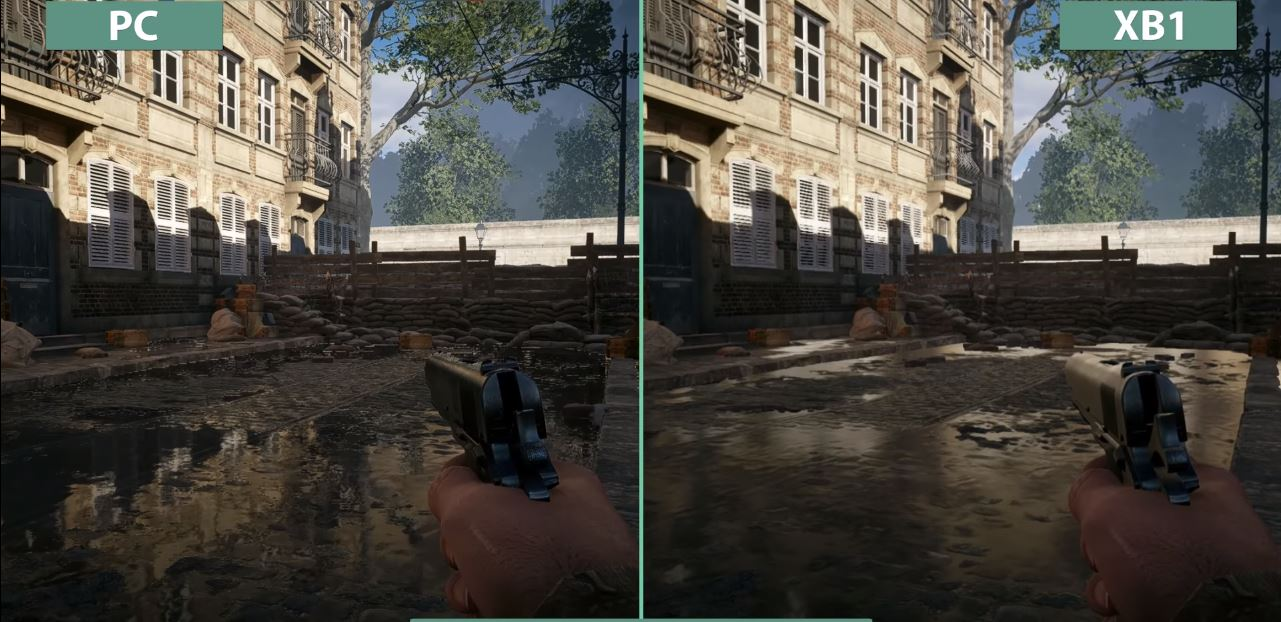 Battlefield 1 PC Vs Xbox One Graphics Comprasion