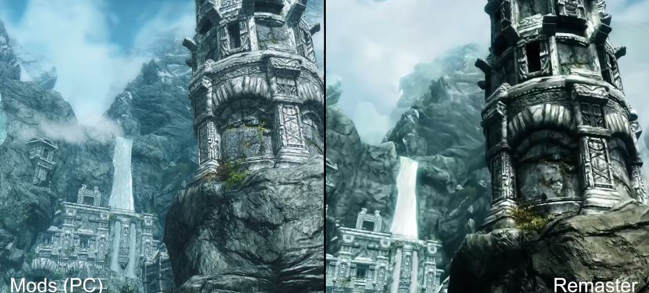 skyrim special edition vs original pc