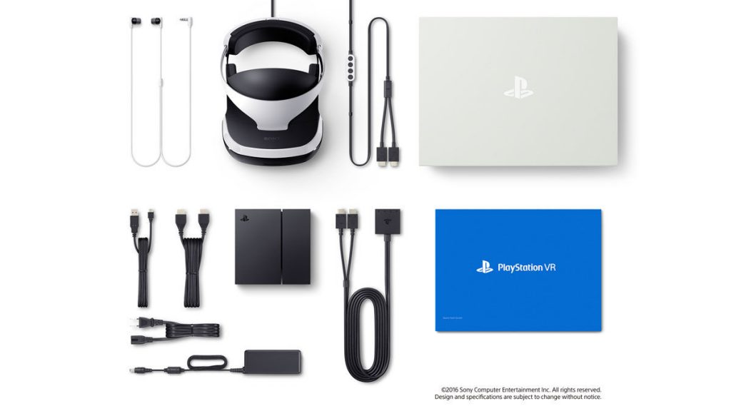 PlayStation VR Box And Accessories