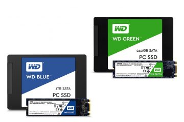 Western Digital launches WD Blue and WD Green SSDs