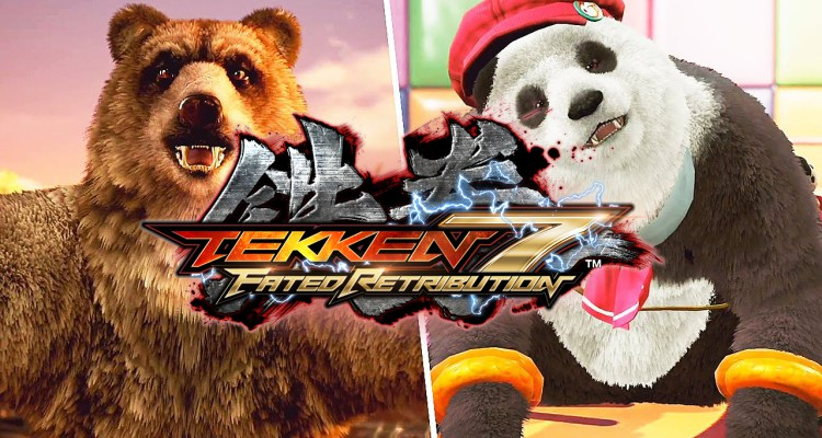 Tekken 7 Kuma And Panda Announced Gameplay Trailer