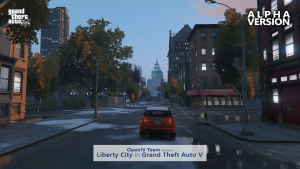 Grand Theft Auto V Liberty City Mod