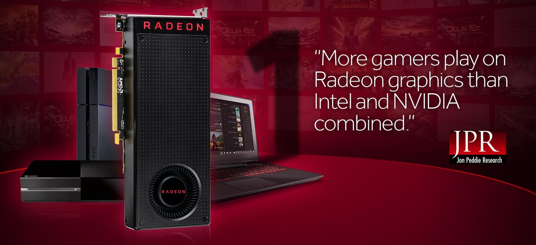 AMD Radeon and Intel CPu