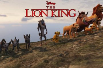 Lion King GTA V