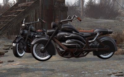 fallout 4 derivable motocycle mod