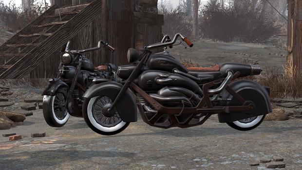 fallout 4 derivable motocycle mod