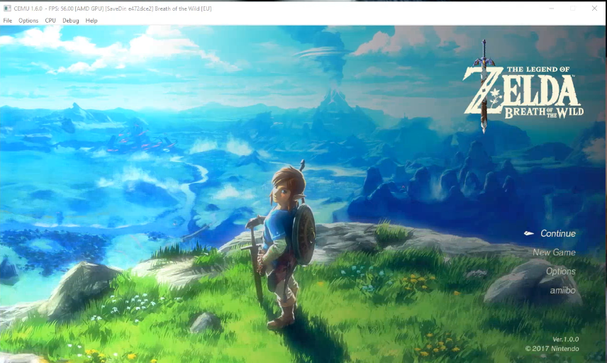 Zelda: Breath of the Wild Playable CEMU Emulator PC