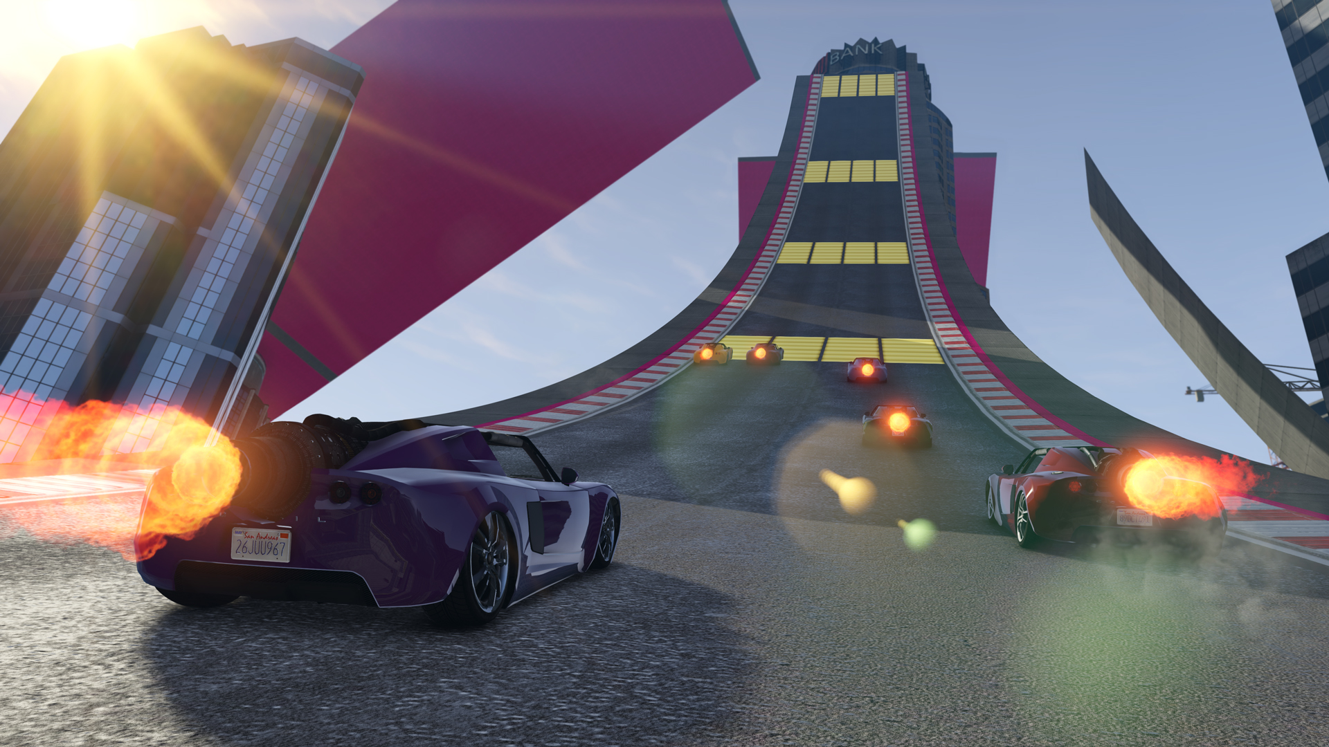 GTA Online - New Cars, Circuits, Modes and more content