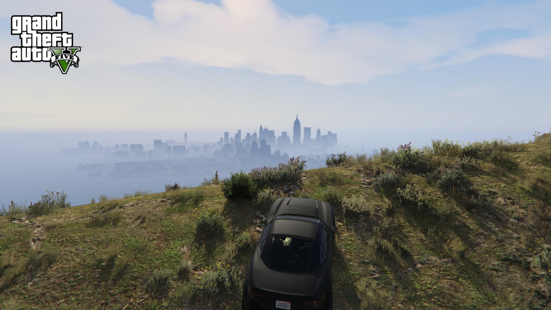 Liberty City in GTA V