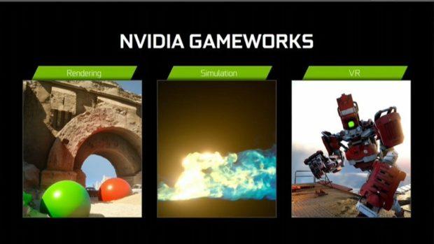 nvidia gameworks directx 12