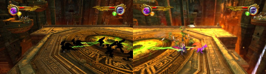 The Legend of Spyro: Dawn of the Dragon: Before and After