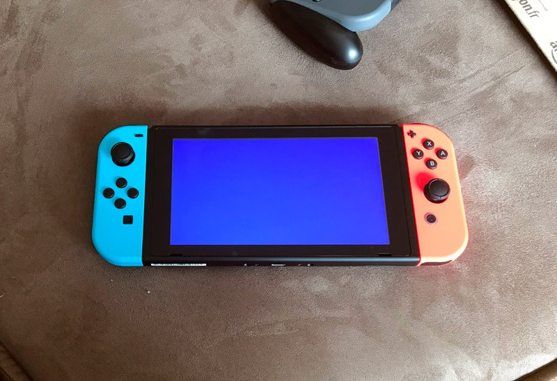 Nintendo Switch BSOD