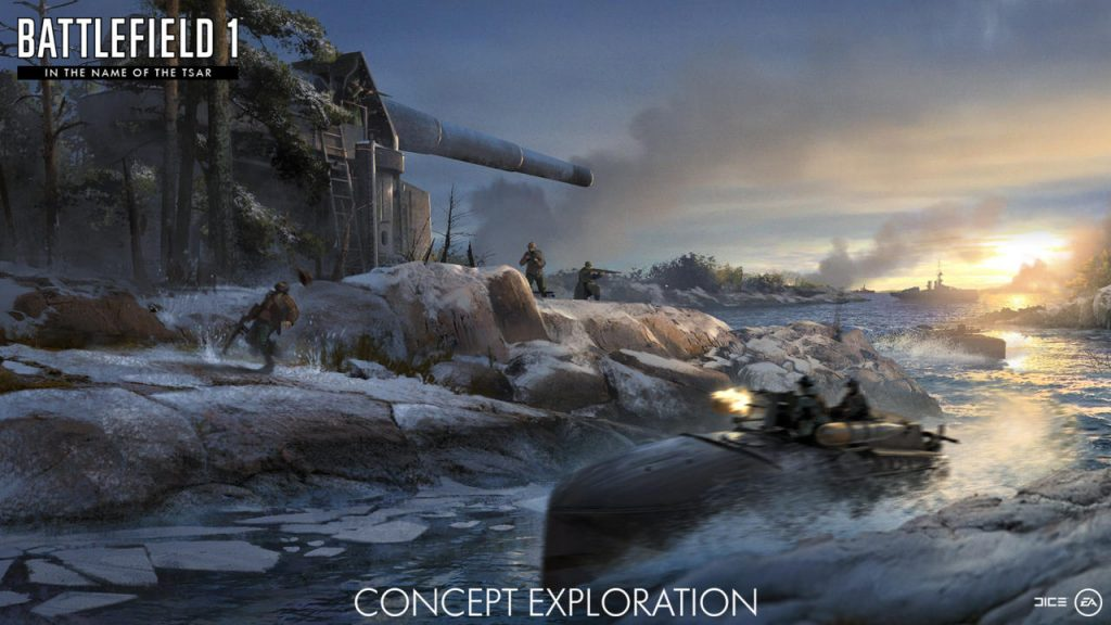 Battlefield 1 DLC In the Name Of The Tsar