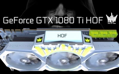 Galaxy GeForce GTX 1080 Ti Hall of Fame