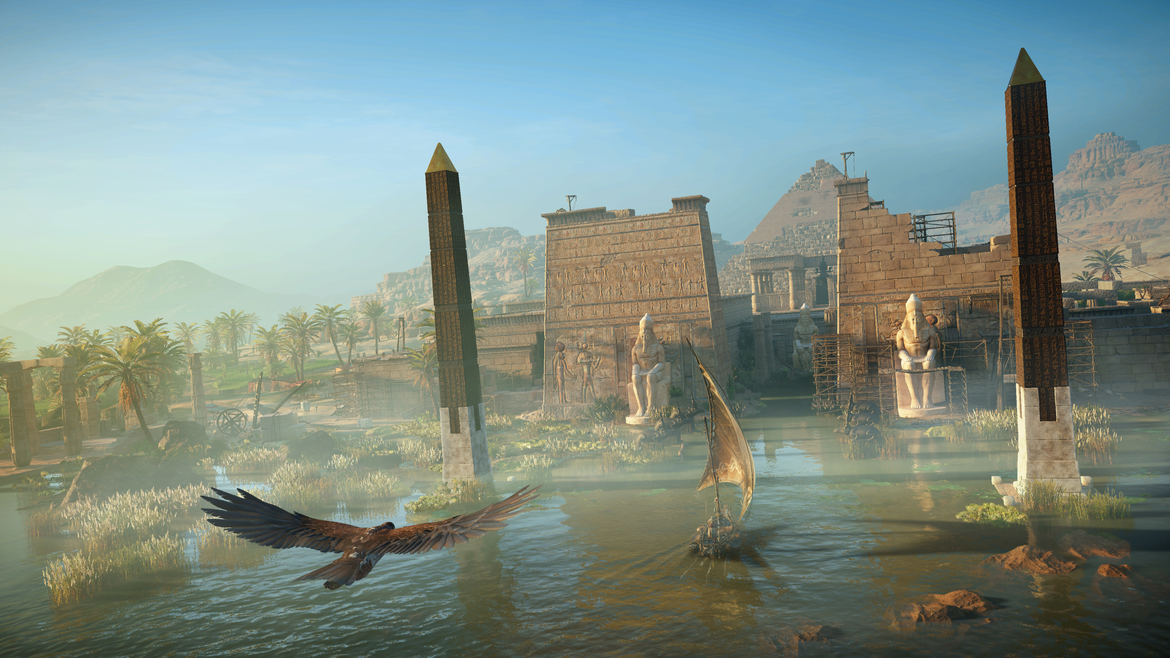 Assassin S Creed Origins New 4k Gameplay From Xbox One X