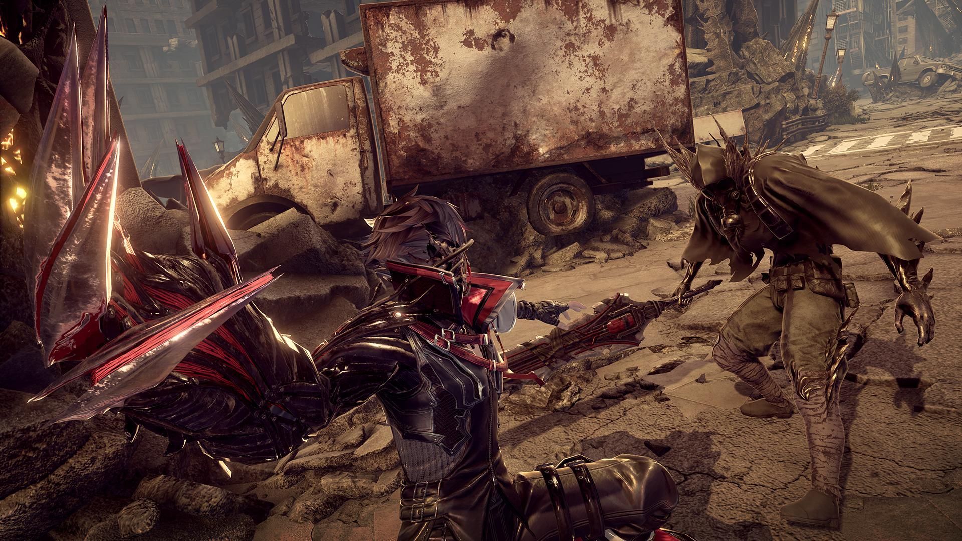 Code Vein Confirmed For Pc New Screenshots And Gameplay