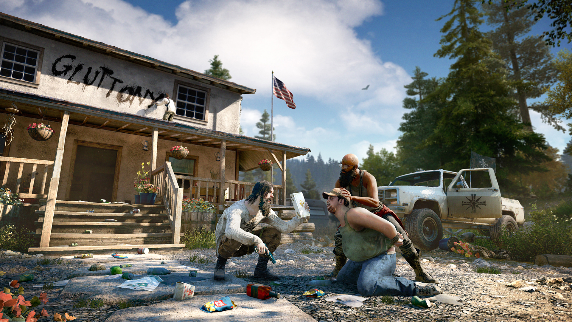 Far Cry 5 Will Include Far Cry Arcade Map Editor Season Pass Gameplay Trailer