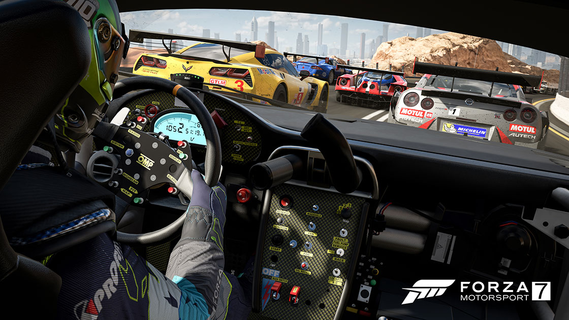 forza motorsport 7 new gameplay video and pc system requirements. Black Bedroom Furniture Sets. Home Design Ideas
