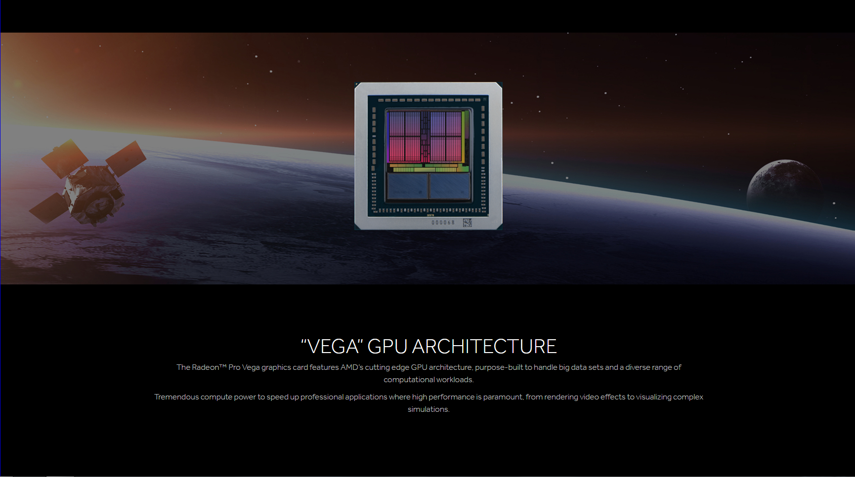 Radeon Pro Vega 64