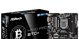 ASRock H110 PRO BTC +