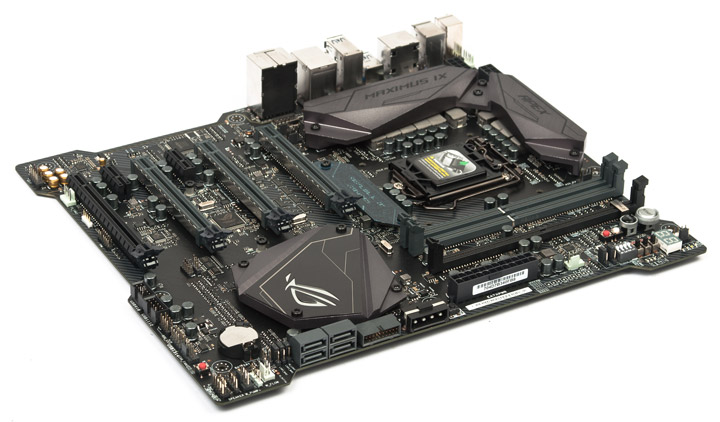 ASUS ROG Maximus IX Apex on the Intel Z270 chipset