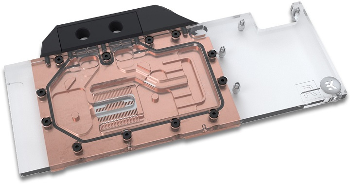 Water block for VEGA