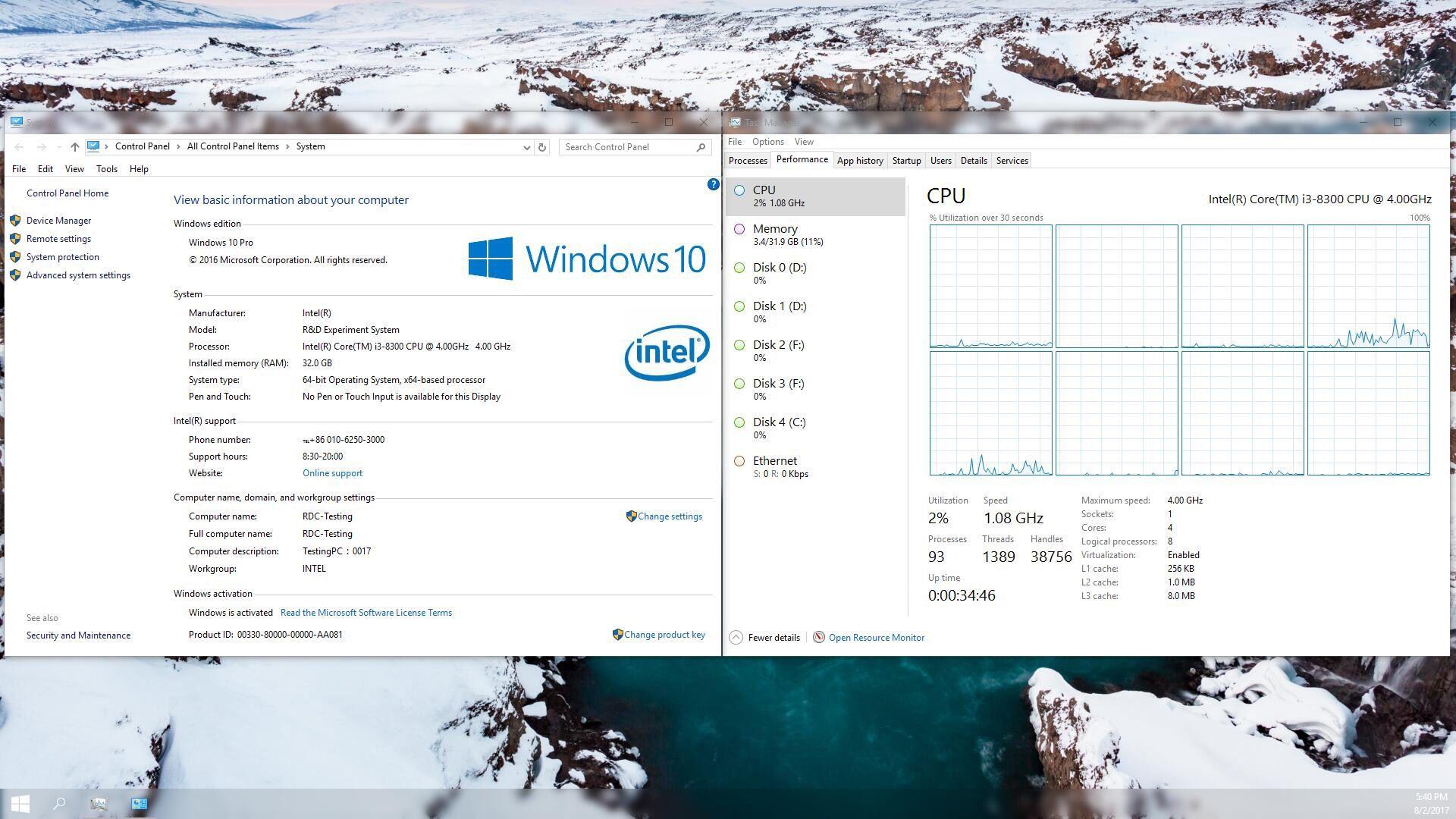 RUMOR: Intel Coffee Lake Core i3-8300 Processor will get