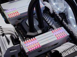 Corsair Vengeance RGB White DDR4 DRAM