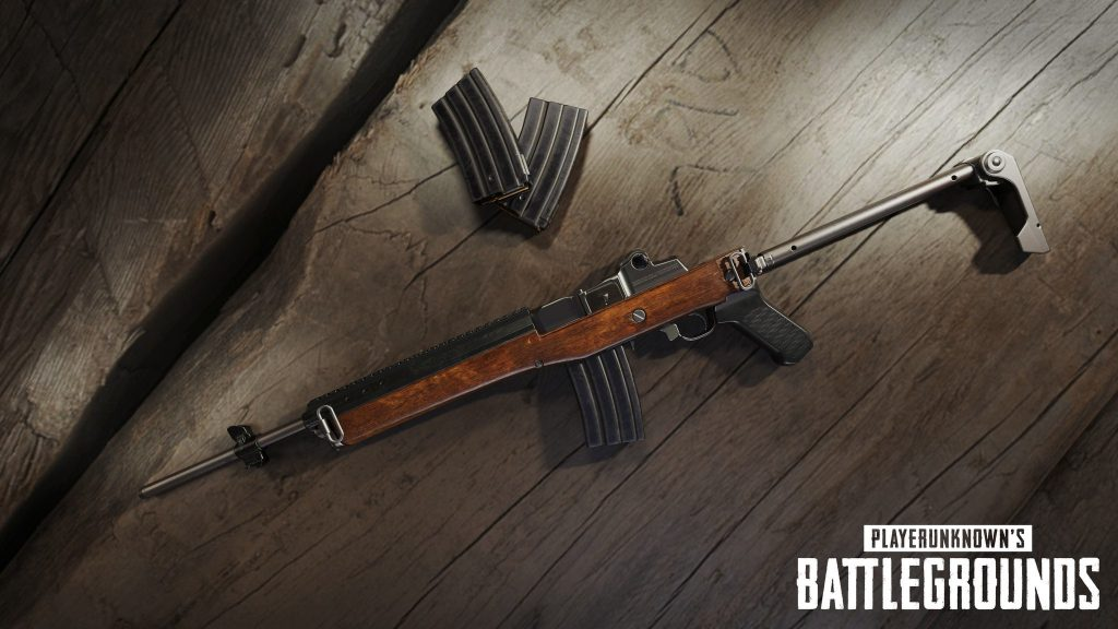 playerunknown's battlegrounds mini 14 rifle