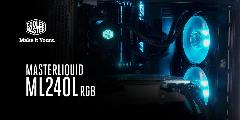 Cooler Master liquid ML240L RGB