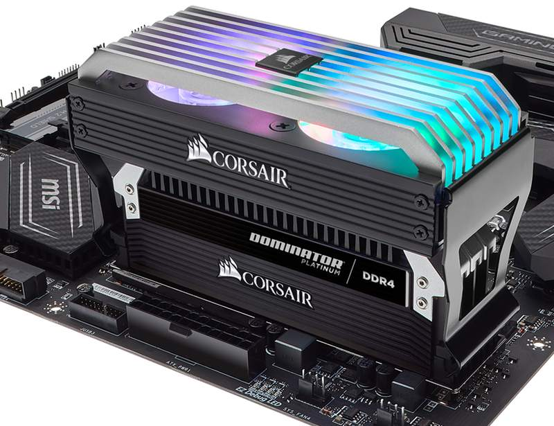 Corsair Dominator Airflow Platinum RGB Fan