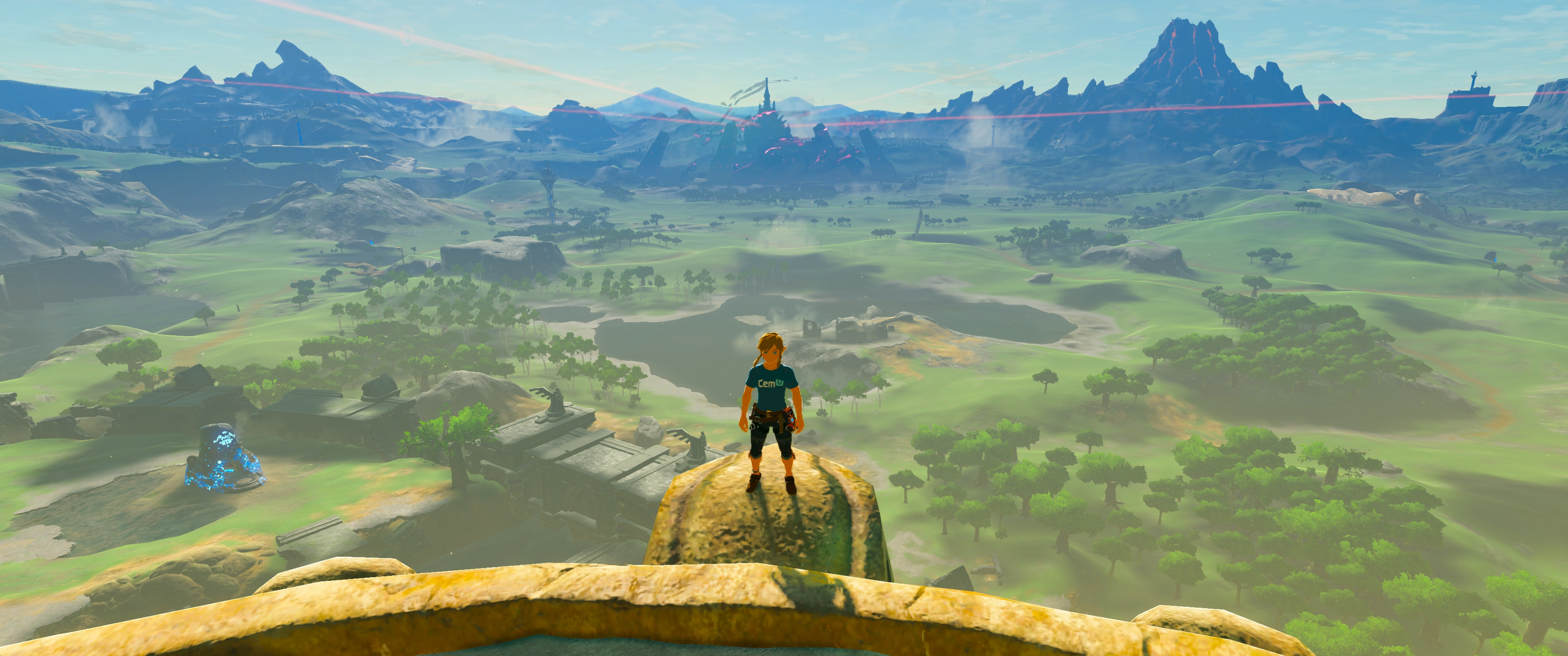 TLOZ: Breath of the Wild - 'Clarity GFX' Graphic Pack now