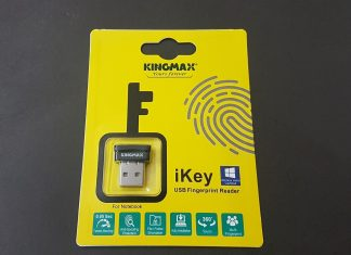Kingmax iKey USB Fingerprint Reader Review