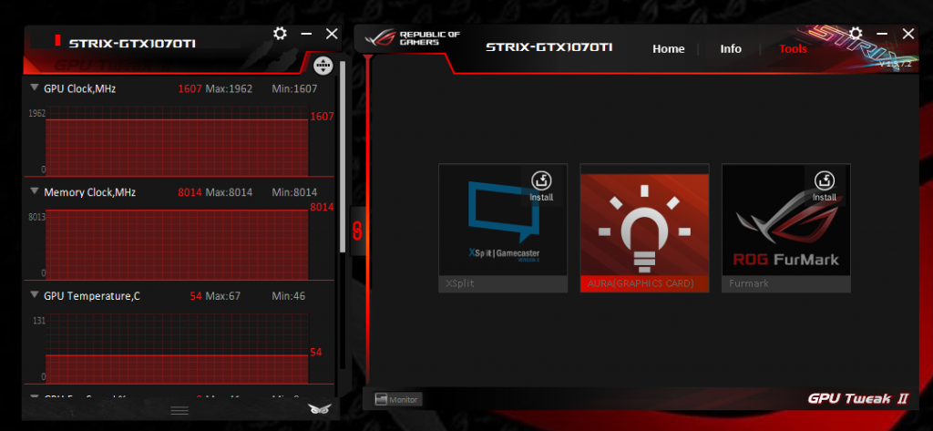 ASUS GeForce GTX 1070Ti Strix A8G Review