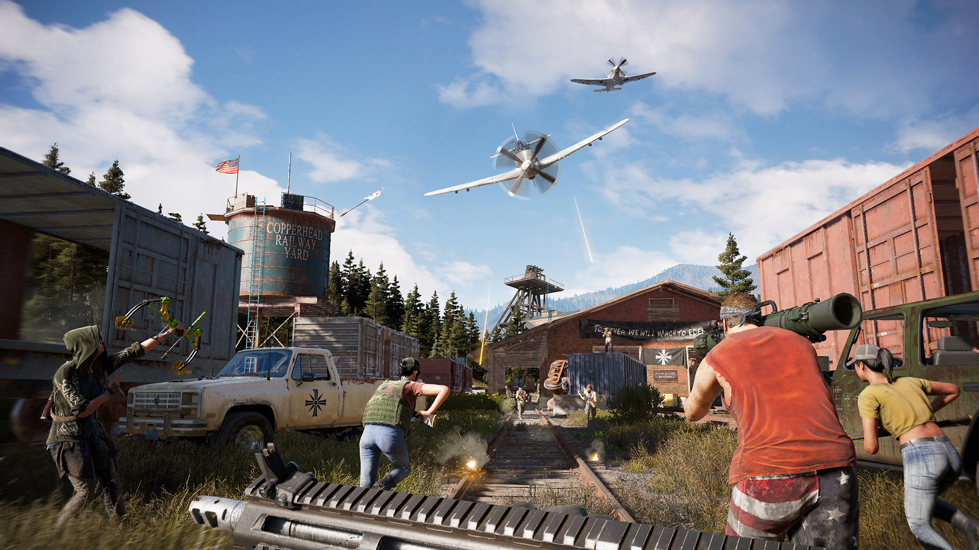far cry 5 xbox one gameplay
