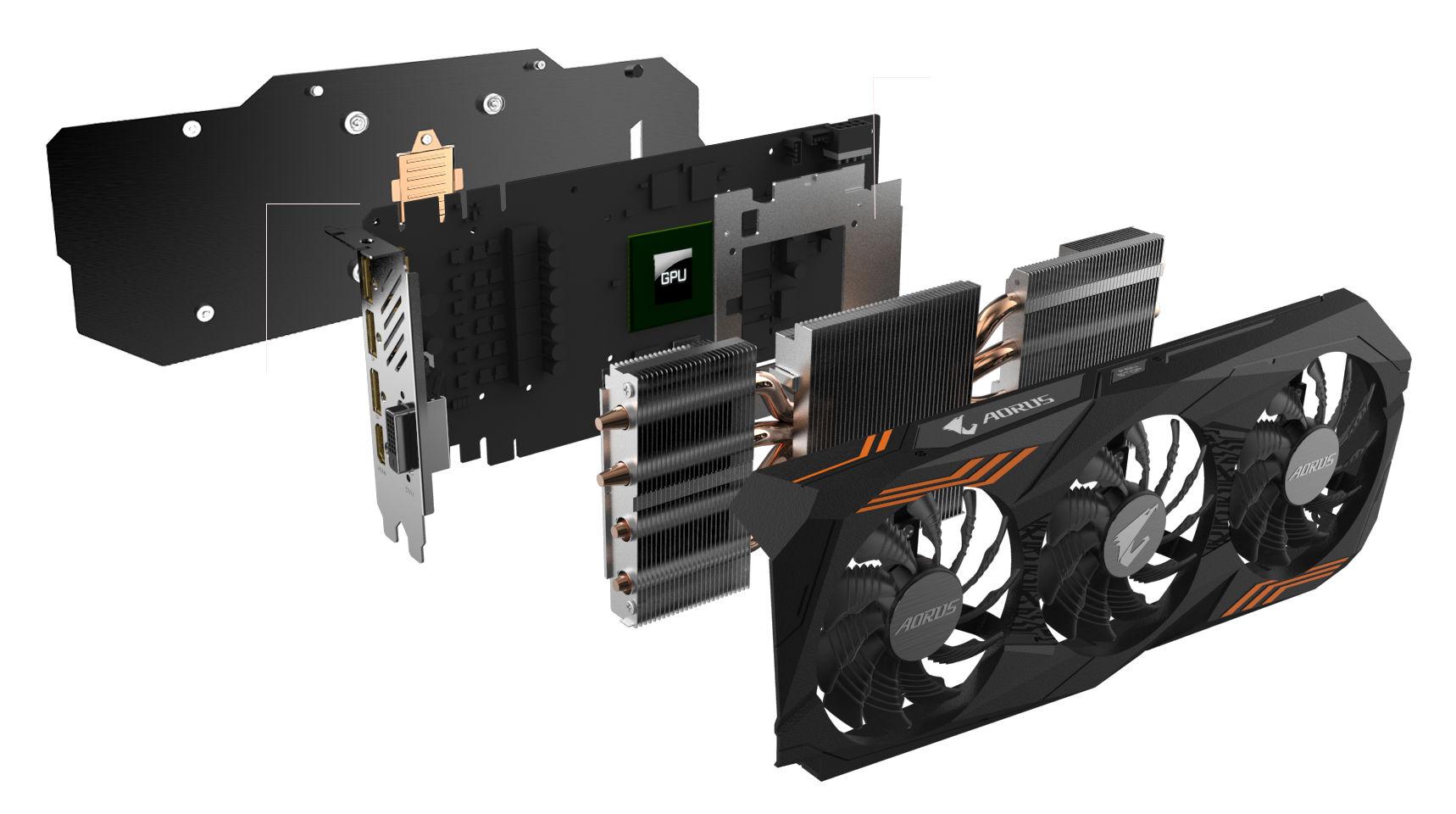 Gigabyte launches Aorus GeForce GTX 1070 Ti (GV-N107TAORUS-8GD)