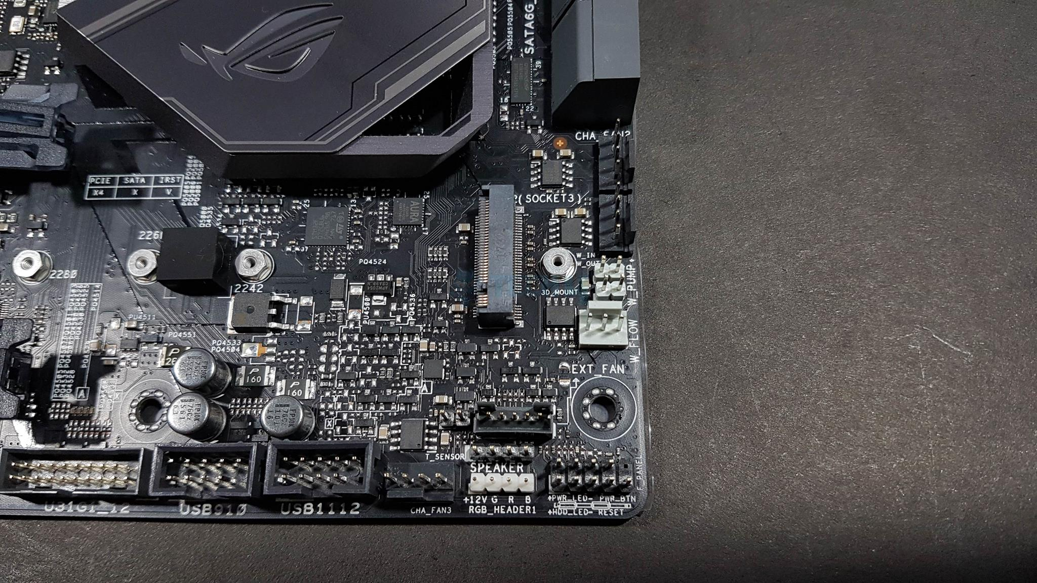 Asus Thermal Sensor : Asus rog maximus hero review