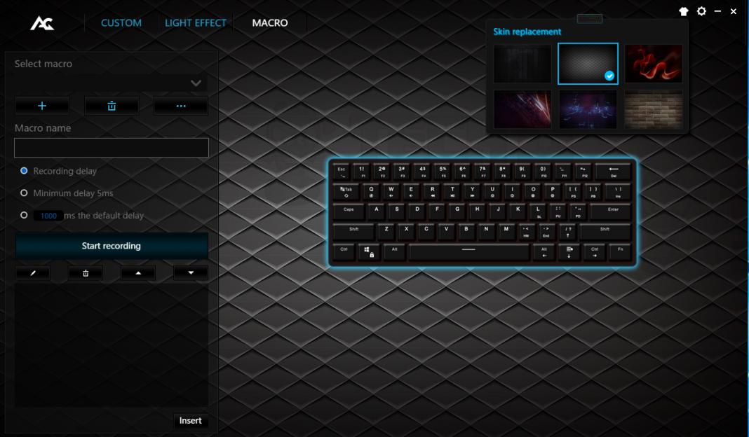 ACGAM AG6X TKL Mechanical Keyboard