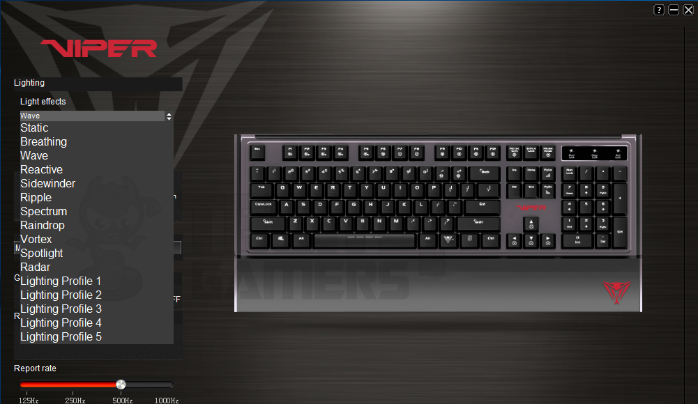 Patriot Viper V760 RGB Mechanical Gaming Keyboard