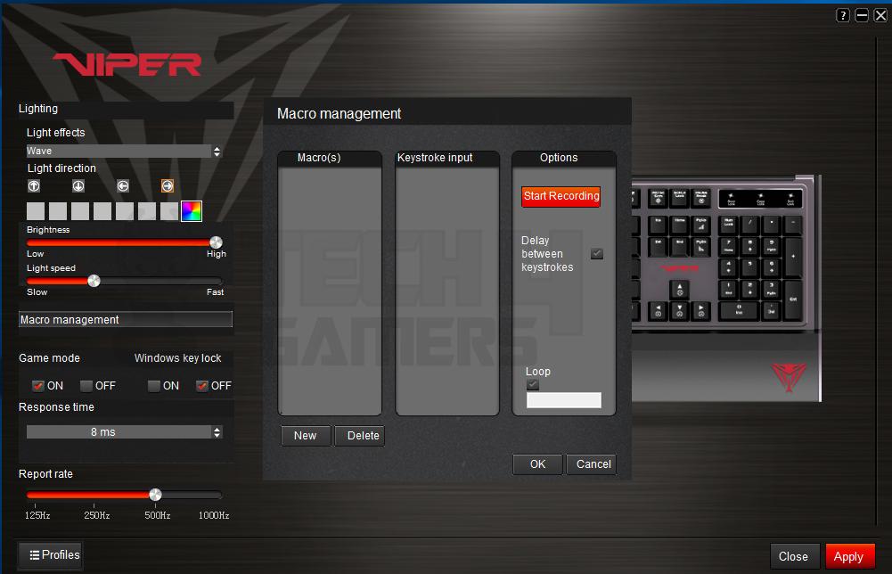 Patriot Viper V760 RGB Mechanical Gaming Keyboard