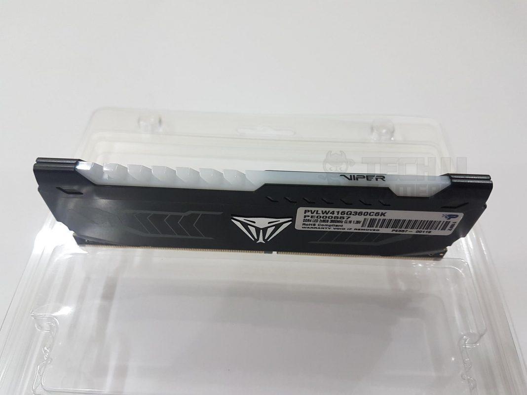 Patriot Viper White LED 16GB 3600MHz DDR4