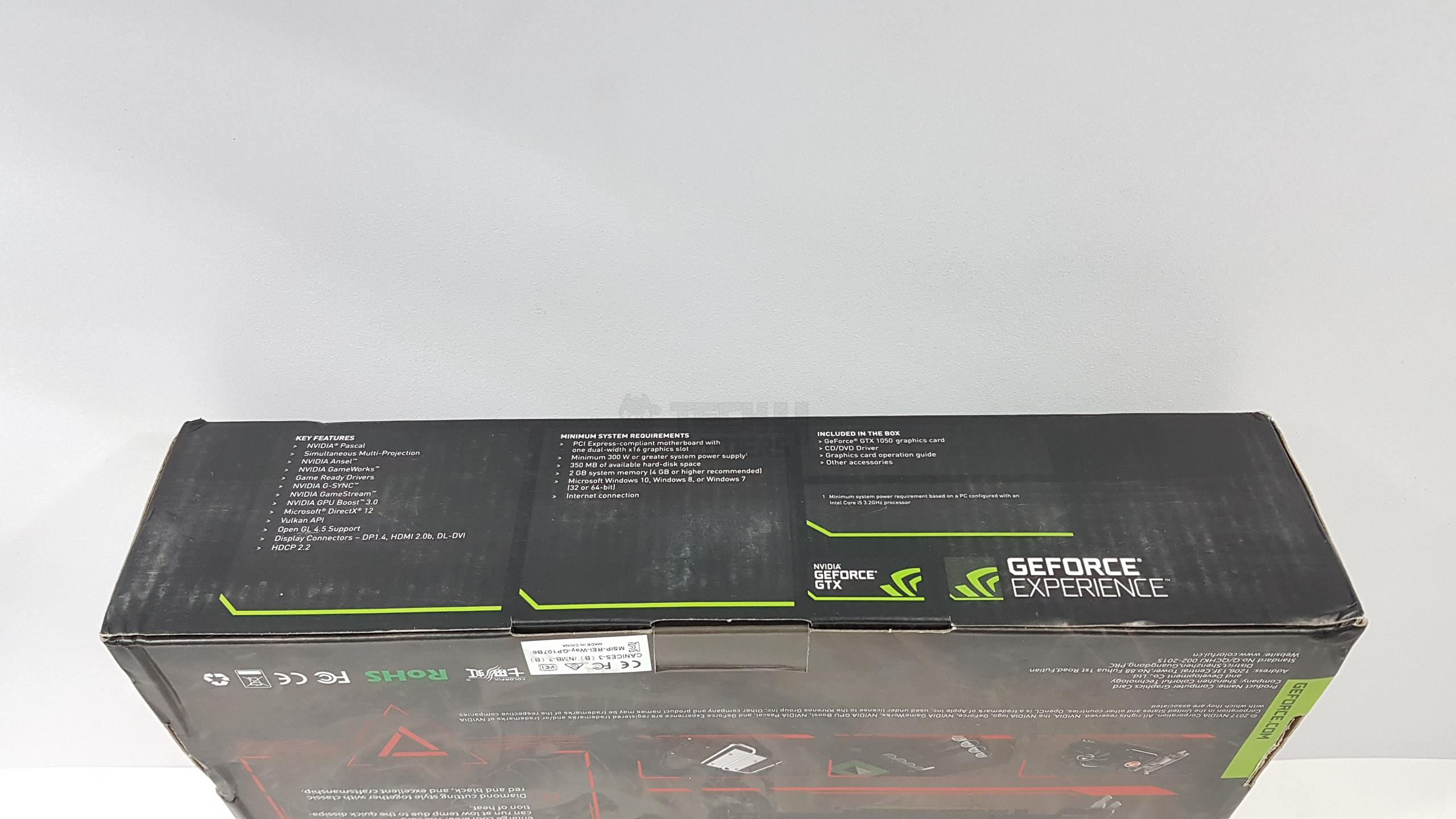 Colorful GeForce GTX 1050 NB 2G Graphics Card Review