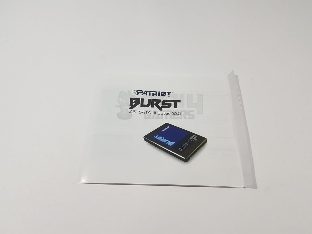 Patriot Memory Burst 120GB SSD