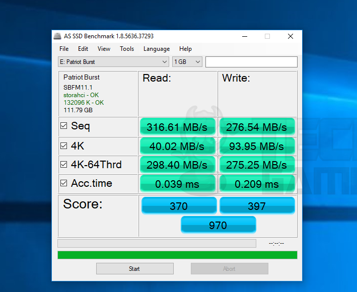 Patriot Memory Burst 120GB SSD