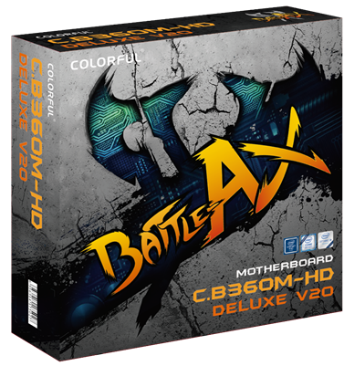 Battle Axe C.B360M-HD Deluxe