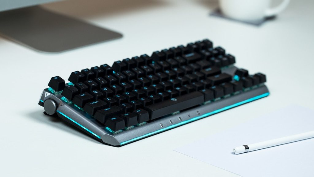 Drevo BladeMaster: keyboard for Gamers with Programmable Knob