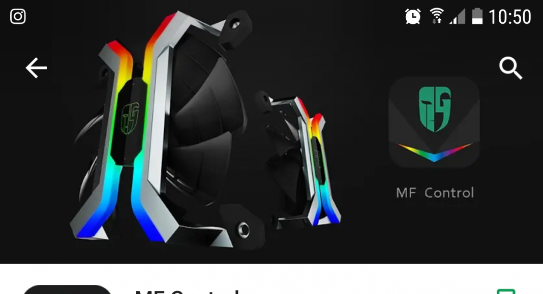 Deepcool GamerStorm MF120 RGB Fans