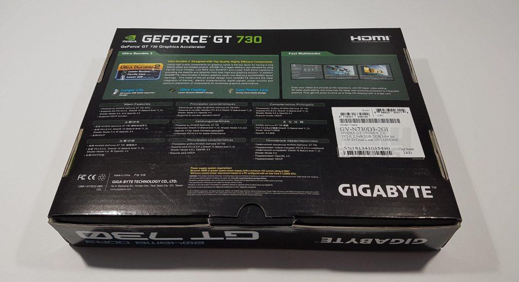 Gigabyte GT 730