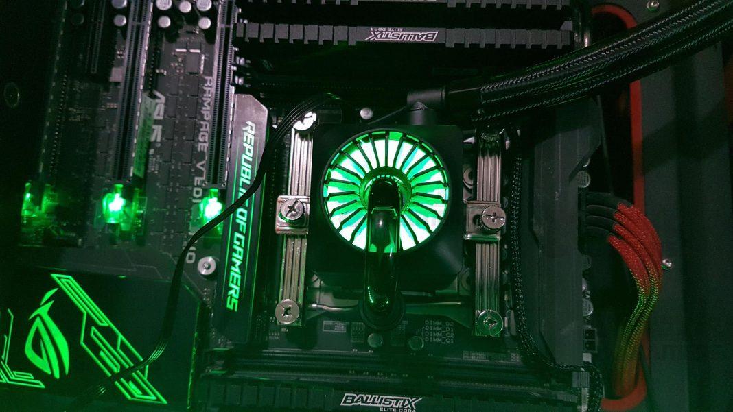 Deepcool Captain 240EX RGB CPU Cooler